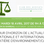Colloque EFB/CDAE 18 avril 2017